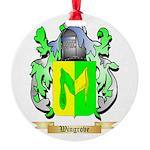 Wingrove Round Ornament
