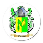 Wingrove Round Car Magnet