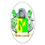 Wingrove Sticker (Oval)