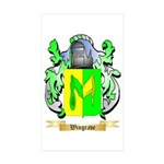 Wingrave Sticker (Rectangle 50 pk)