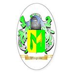 Wingrave Sticker (Oval)
