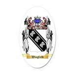 Wingfield Oval Car Magnet
