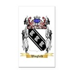 Wingfield Rectangle Car Magnet
