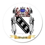 Wingfield Round Car Magnet