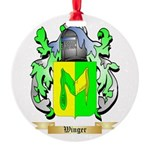 Winger Round Ornament