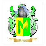 Winger Square Car Magnet 3