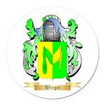 Winger Round Car Magnet