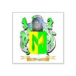 Winger Square Sticker 3