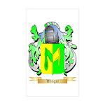 Winger Sticker (Rectangle 10 pk)