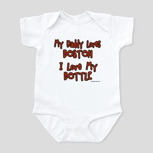 My Daddy Loves Boston Infant Bodysuit