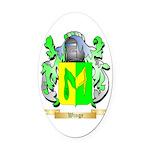 Winge Oval Car Magnet