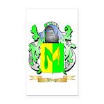 Winge Rectangle Car Magnet