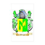 Winge Sticker (Rectangle 50 pk)