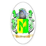 Winge Sticker (Oval)