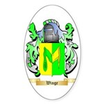Winge Sticker (Oval 10 pk)