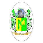 Winge Sticker (Oval 50 pk)