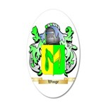 Winge 35x21 Oval Wall Decal