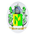 Winge Oval Ornament