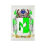 Wing Rectangle Magnet (10 pack)