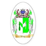 Wing Sticker (Oval 10 pk)