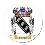 Winfield Round Car Magnet