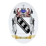 Winfield Oval Ornament