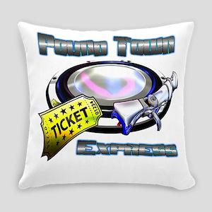 Pound Town Express Everyday Pillow