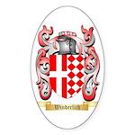 Winderlich Sticker (Oval 10 pk)