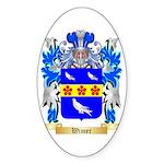 Wimer Sticker (Oval 50 pk)