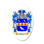 Wimer 35x21 Oval Wall Decal