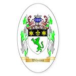 Wilyams Sticker (Oval 50 pk)