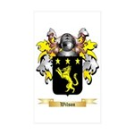 Wilson England Sticker (Rectangle 10 pk)