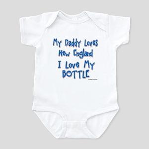 My Daddy Loves New England Infant Bodysuit