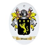 Wilson England Oval Ornament