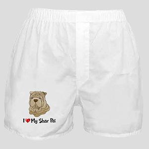 Love Shar Pei Boxer Shorts