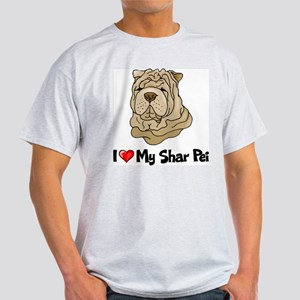 Love Shar Pei Light T-Shirt