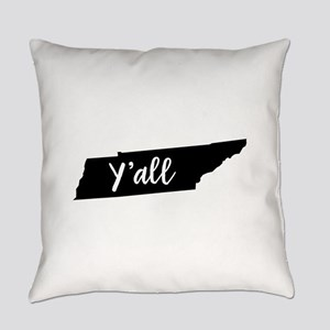 Y'all Tennessee Everyday Pillow