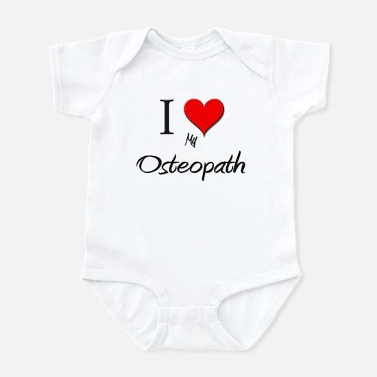 I Love My Osteopath Infant Bodysuit