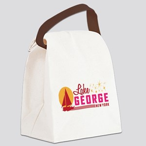 Lake George, New York Canvas Lunch Bag