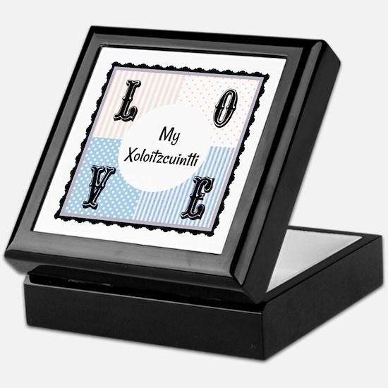 Xoloitzcuintli Keepsake Box