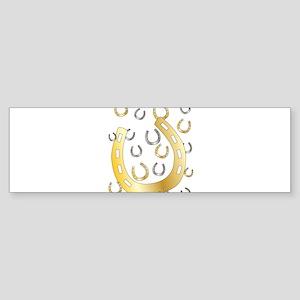 Horseshoe Bumper Sticker