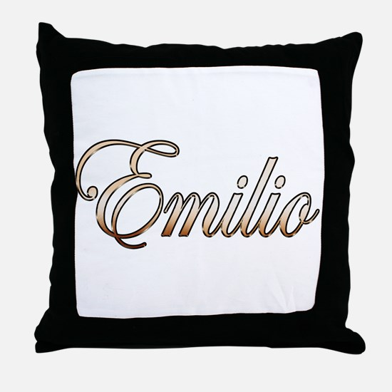 Cute Emilio Throw Pillow