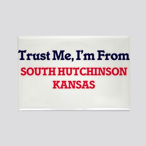 Trust Me, I'm from South Hutchinson Kansas Magnets