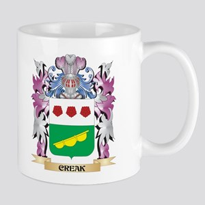 Creak Coat of Arms (Family Crest) Mugs