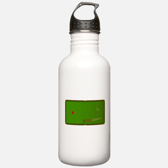 Snooker Table Water Bottle