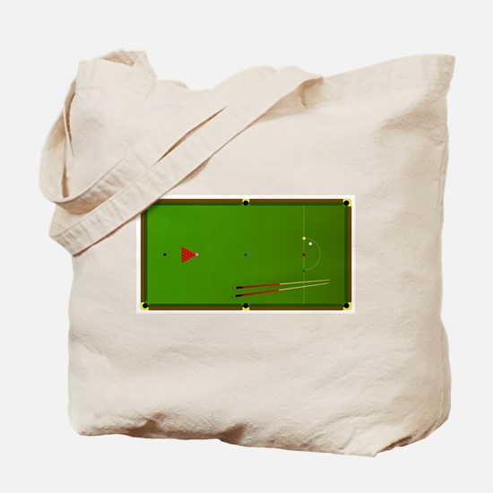 Snooker Table Tote Bag