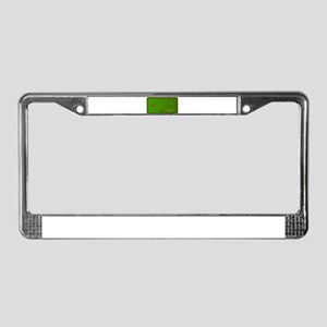 Snooker Table License Plate Frame