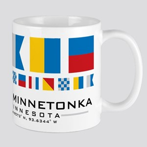 Lake Minnetonka, Minnesota Nautical Mugs