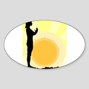 Yoga Salutation Sticker