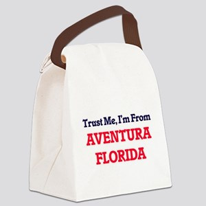 Trust Me, I'm from Aventura Flori Canvas Lunch Bag